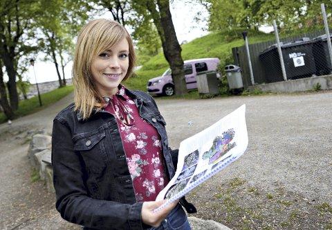 Ferdig utdannet: Kristin Hoel Fugelsnes er ferdig utdannet by- og regionplanlegger. I sin masteroppgave har hun sett på hvilken verdi sentrumsnære friluftsområder i Kristiansund har for folkehelsen.