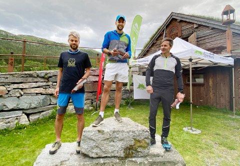 Kristoffer Nordvik vant Kårvatn Skyrun foran Robert Sørlie og Håkon Ishoel.