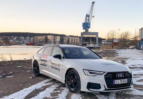 Biltest januar 2020. Audi A6 Avant plug-in.