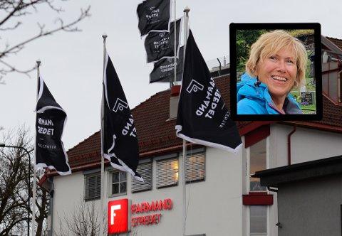 SJOKKERT: Inger Lisbeth Sørensen synes det er tankeløst å bruke svarte logoflagg.