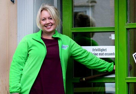 VIL HØRE BRUKERNES STEMME: Lene Bugge Pettersen gleder seg til å komme i gang med det nye prosjektet som skal  kartlegge og forebygge ensomhet.