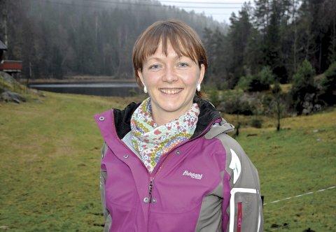 Bedre datanett: Ordfører Kirsten Helen Myren bor selv i den delen av Vegårshei som nå får tilskudd til bredbåndsutbygging. Arkivfoto
