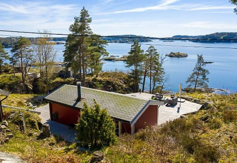 - Det var åtte budgivere, og det gikk hett for seg, bekreftet eiendomsmegler Maia Hågensen Jensen i DNB eiendom i mai. Foto: Hallvard Rimereit/Inviso