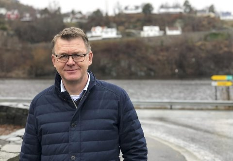 Historie: Høye Høyesen og de andre i Kilsund Eiendom AS har ikke lenger eierandeler i Holmen. Foto: Siri Fossing
