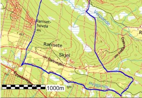 Skjel: Muleg grensejustering mellom Vestre og Øystre Slidre er tema når representantar for Fylkesmannen kjem til Skjel 12. februar.
