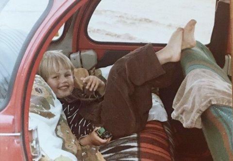 ALTVARIKKEBEDRE:Svein Strømfors i Søndre tok dette bildet av sønnen Jan Kåre under en bilferie til Paris i 1979.