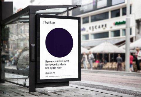 Mandag skifter Skandiabanken snavn til Sbanken.