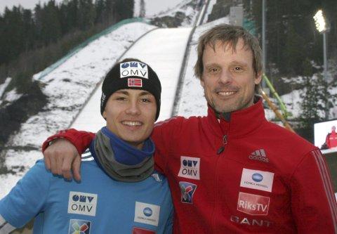 Ny sjanse: Landslagstrener Alexander Stöckl sier det er helt opp til Phillip Sjøen selv om han skal få hoppe VM i stor bakke i Falun torsdag.arkivfoto: Torbjørn Larsen