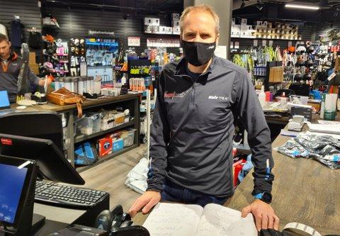 MENINGSLØST: Det føles meningsløst å måtte holde stengt, sier Marius Pedersen. FOTO: Arkiv