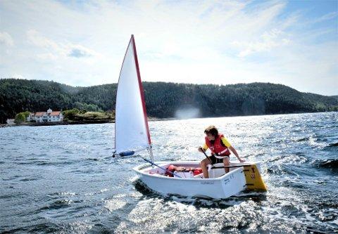 Seilcamp på Steilene i regi av Nesodden seilforening er et populært tiltak for barn og unge.