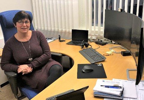 IKKE FORNØYD: Mona Murud (Sp) ordfører i Alvdal, lover igjen hun skal jobbe for flertallsvedtaket og er av den grunn ikke fornøyd med signalene som har kommet fra flere hold om nei til dagligvare på Steimosletta.