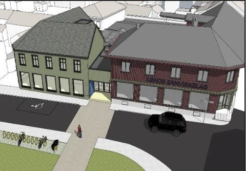 NYTT bibliotek: Utvalg for plansaker i Røros har vedtatt reguleringsplan for nytt bibliotek. Nå kan det bygges.