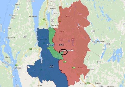 Ås kommune skal avgjøre om de skal gå i diskusjon med Ski om overføring av Tandbergløkka