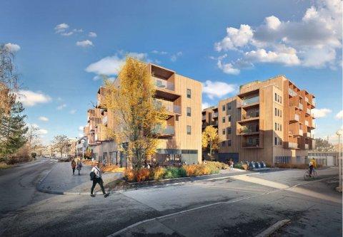 UENIGE OM STØRRELS PÅ LEILIGHETER: Moerveien 12 AS ønsker å bygge leiligheter ned i 26 kvadratmeter. Ås kommune mener minstestørrelsen bør settes ved 36 kvadratmeter.