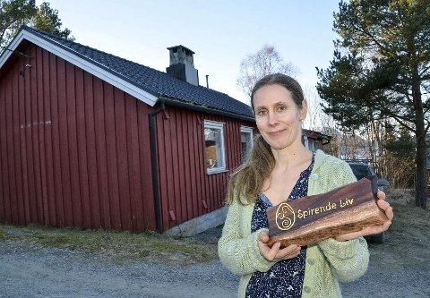 Doula: Eva Christin Hjelden åpner Spirende Liv i Tingvoll fredag ettermiddag. Foto: Yngve Lie