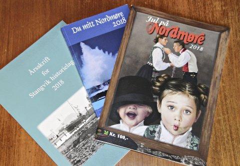 Anbefales: Jul på Nordmøre, Årsskrift for Stangvik historielag og Du mitt Nordmøre byr på historier, dikt og vakre bilder fra Nordmøre.