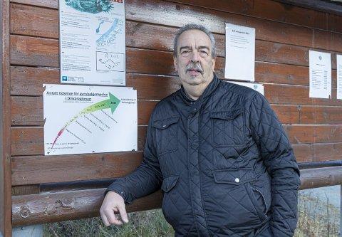 Positiv: Ole K. Løvik i Sunndal JFF er positiv til klorbehandling av Driva, og ønsker fast oppsyn i elva fra neste år.
