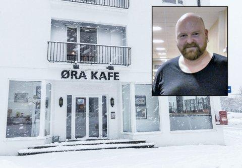 Jo Inge Nes er styreleiar på Øra kafe. Arkivfoto