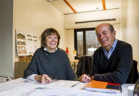 Klare: Michele Rønnestad og Erik Johan Grorud ved Sørlandet Helsepark tar gjerne imot kommunen og det planlagte helsehuset, men understreker at de ikke er avhengige av det.