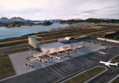 Bodø kommune ber staten om milliardforskudd til flyplass-flyttingen.