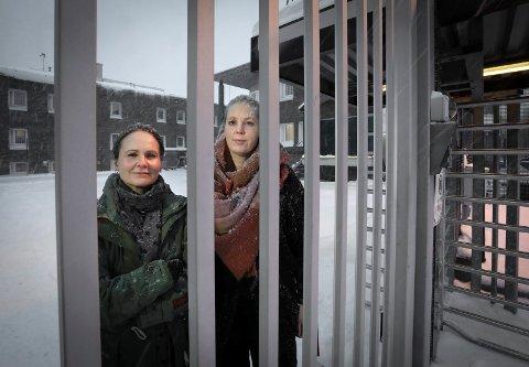 Sykepleier Tove Nilsen og lege Hege Sivertsen Andreassen i Bodø fengsel.