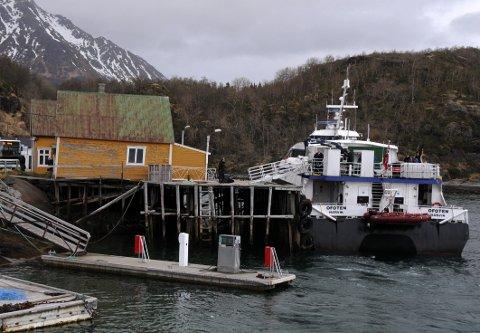 Mål: Målsettingen med investeringen Hamarøy kommune skal gjøre på Skutvik er å få Nordlandsekspressen til å gjenoppta anløpene av den kommunale kaia på Skutvik.