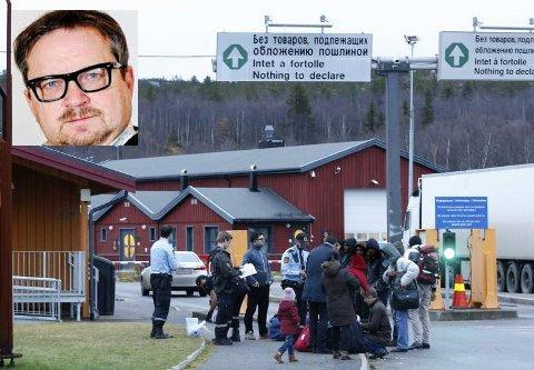 Flyktingenproblemene på Storskog i 2015 blekner i forhold til det scenario enny bok tenger.
