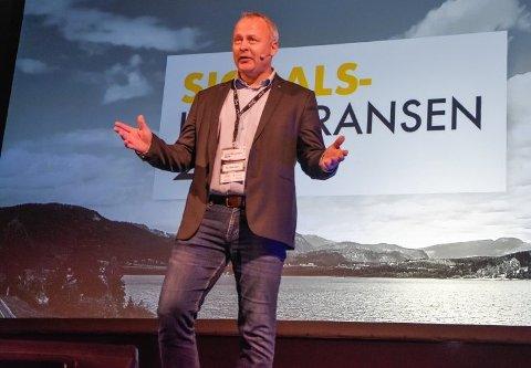 BER OM PENGER: Kommunedirektøren  i Sigdal ber om penger for å beholde prosjektleder Per Arne Lislien et halvt år til.