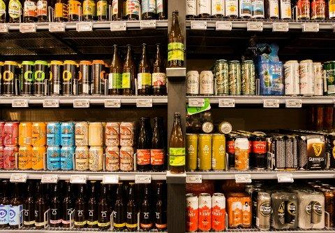 ØLSALG: Nå kan du få levert øl på døren sammen med andre dagligvarer.