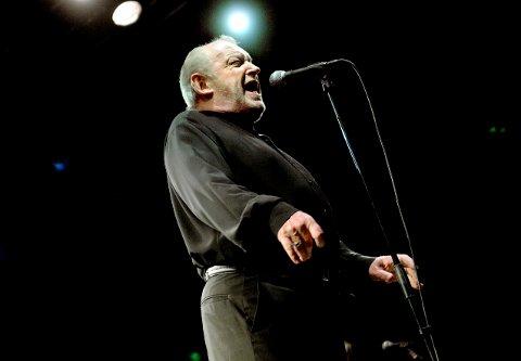 Den største: Mange mener at Joe Cocker har vært den største artisten som har gjestet Gamle Kirkeplass.