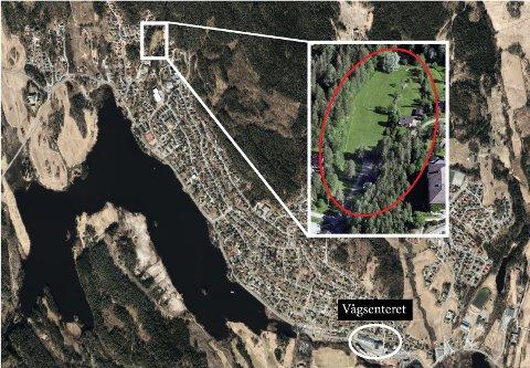 Statsforvalteren i Oslo og Viken liker ikke at planområdet Nylende Park i Ytre Enebakk ligger over to kilometer fra Vågsenteret.