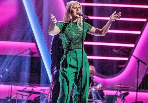 Alice Kucevic Hugøy på deltok i songkonkurransen The Voice på TV2 tidlegare i år.