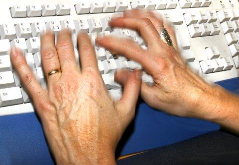 ILLUSTRASJONSFOTO: Gift ved første blikk. Skilt ved første klikk? No har Fylkesmannen gjort skilsmissesøknaden digital.