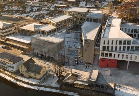 ØNSKTE IKKJE Å DELTA: Fokusgården Utvikling AS valde å ikkje bli med i konkurransen om å bygge Nynorskhuset i Førde.