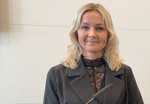 – EIN STYRKE: Kommunalsjef Kristine Steindal synest det er ein styrke å ha både kommunale og private barnehagar i kommunen, og har ikkje vurdert å legge ned dei private.