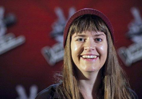 Videre: Hanna von Bergen ble den fjerde lokale som gikk videre i The Voice. Hun valgte Sondre Lerche som mentor.Foto: Robert Holand, TV2