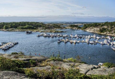 Attraktivt område: Ramseklo båtforening disponerer et attraktivt område ved Mærrapanna i Onsøy.foto: geir a. carlsson