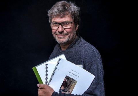 Produktiv: Thor Rummelhoff har skrevet tre nye stykker som alle skal ha urpremière i litteraturfestivaluka. To av dem på samme dag!