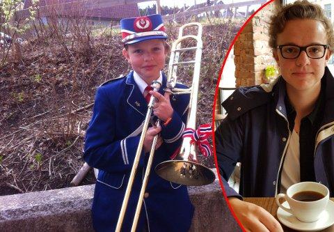 Henrik Øieroset var en lovende trombonist, så fikk han hjernrystelse og måtte bytte instrument.