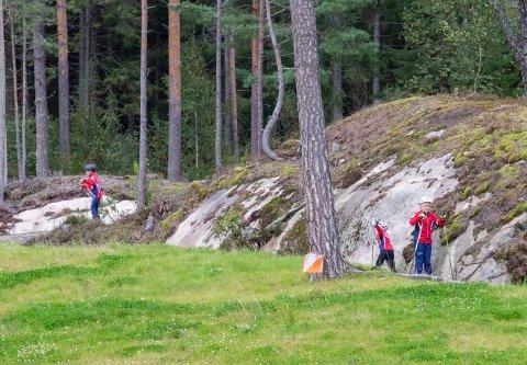 HER KOMMER VÅREN: Søndag kan du teste ut rulleski i Fredrikstad Skiarena i regi av FSKs Skigruppe og SNT Østfold.