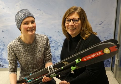 ENGASJERT: Turid Haugen og Eva Hansen i NVE Region Nord inviterer til gratis skredkveld.