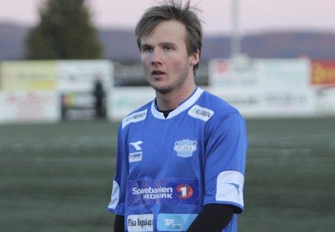 Debutant: Simen Stølen viste lovende spill i sin første seriekamp for Flisa.