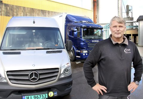 ØKER IGJEN: Frank Engh har bygget opp sitt andre transportselskap. Nå utvider han igjen, og skal begynne med bilutleie.