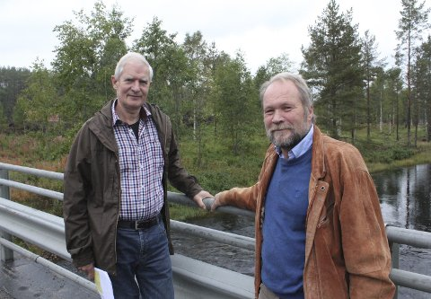 Tegninger: Museumsbygget til Norsk Skogfinsk museum i Svullrya er nå ute til arkitektkonkurranse. Jan Larsson og Dag Raaberg håper på penger i statsbudsjettet for 2019, og kanskje byggestart i 2020. Foto: Kenneth Mellem