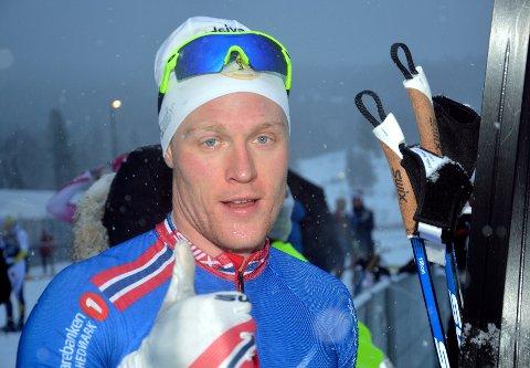 FIRE AV FIRE: Lillehammer-løperen Vegard Bjerkreim Nilsen hadde en bra helg under Skandinavisk cup på hjemmebane tidligere i vinter.  Foto: Morten Aasen