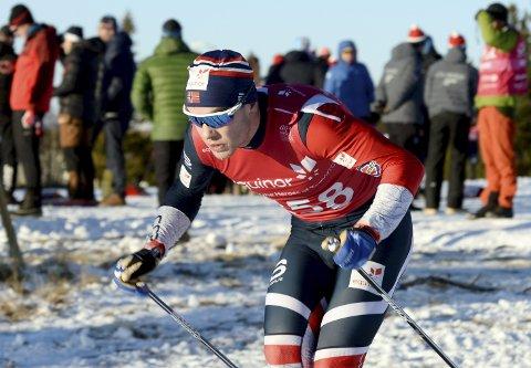 TIL TOPPS: Mattis Stenshagen, Follebu Skiklubb, gikk sterkt i Finland med andreplass på 15 kilometer klassisk og seier på tremil fristil. Nå skal han lade opp fram mot verdenscup i Otepää hvis det er sprint og 15 kilometer klassisk. Foto: Morten Aasen