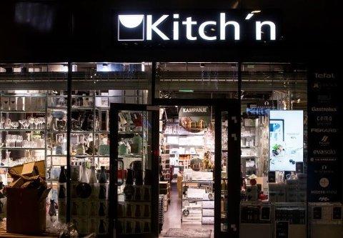 STENGER: Kitch'n og Tilbords stenger ned alle sine butikker som følge av koronapandemien. I Kongsvinger blir Kitch'n på Kongssenteret berørt.