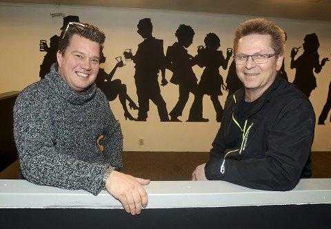 Nominerte: Rebels Music, her ved Morten Wien og Øystein Lysenstøen.