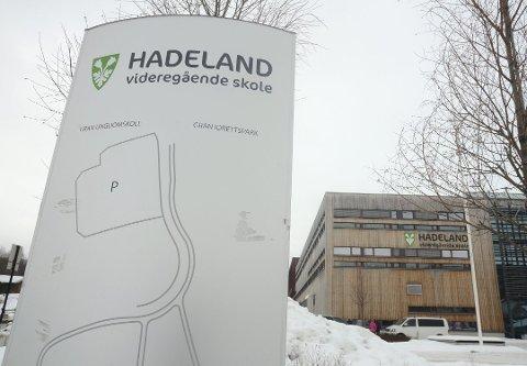 Flere søkere: Antall søkere til Hadeland videregående skole er høyere i år enn i fjor.