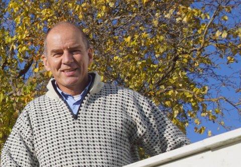 INSTITUSJONSSJEF: Erik Nordengen er fornøyd med samarbeidet med kommunen i arbeidet med smittevern og smittesporing etter utbruddet på Røysumtunet.  Arkivfoto